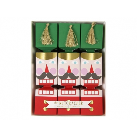 6 small crackers - Nutcracker