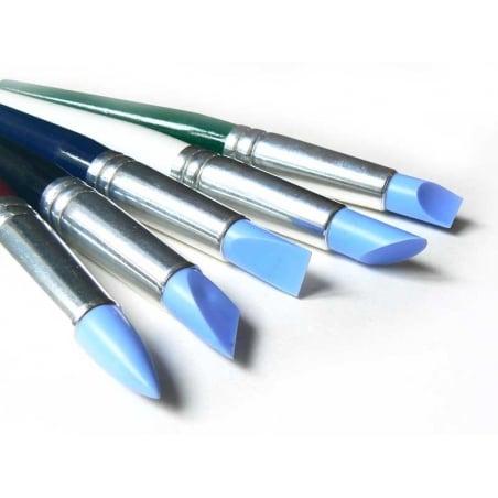 Acheter 5 pinceaux en silicone - Grand format - 16,90€ en ligne sur La Petite Epicerie - 100% Loisirs créatifs