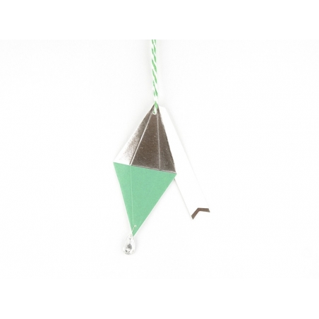 Etiquette de Noël - diamant Meri Meri - 1