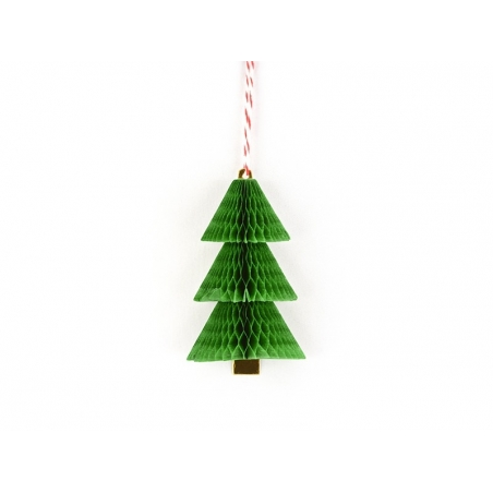 Christmas gift tag - Fir tree
