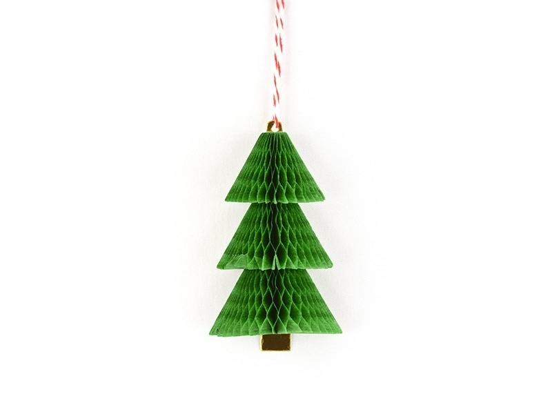 Etiquette de Noël - sapin Meri Meri - 1