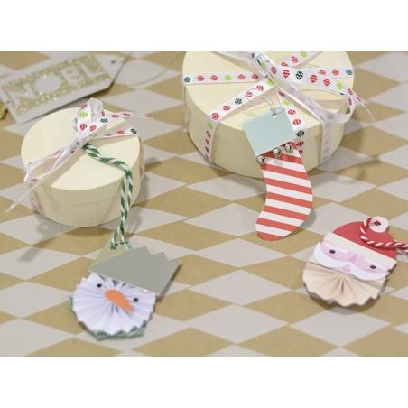 Christmas gift tag - 3-D Owl