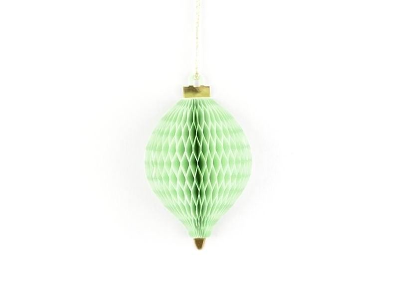 Etiquette de Noël - Boule de Noël 3D Meri Meri - 1