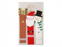 6 étiquettes cadeaux - Noël Meri Meri - 1