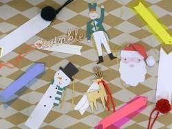 6 étiquettes cadeaux - Noël