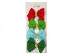 Gift decorations - 4 crepe bows