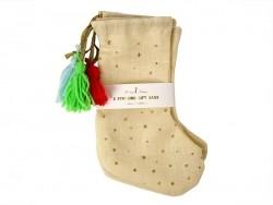 3 chaussettes de Noël