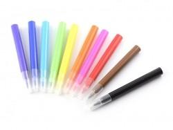 Pen case with 10 mini felt pens