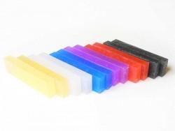 12 Blöcke OYUMAUR-Formmasse - rockige Farben