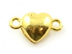 Acheter 1 fermoir aimanté en forme de coeur - couleur or - 2,49€ en ligne sur La Petite Epicerie - Loisirs créatifs