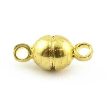 Acheter 1 petit fermoir aimanté rond - couleur doré - 0,89€ en ligne sur La Petite Epicerie - 100% Loisirs créatifs