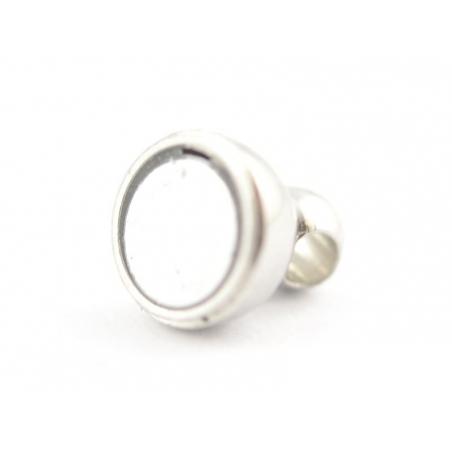Acheter 1 fermoir aimanté - couleur argenté clair - 1,19€ en ligne sur La Petite Epicerie - 100% Loisirs créatifs