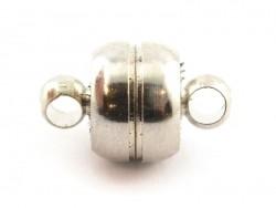 1 Magnetverschluss - silberfarben (dunkel)