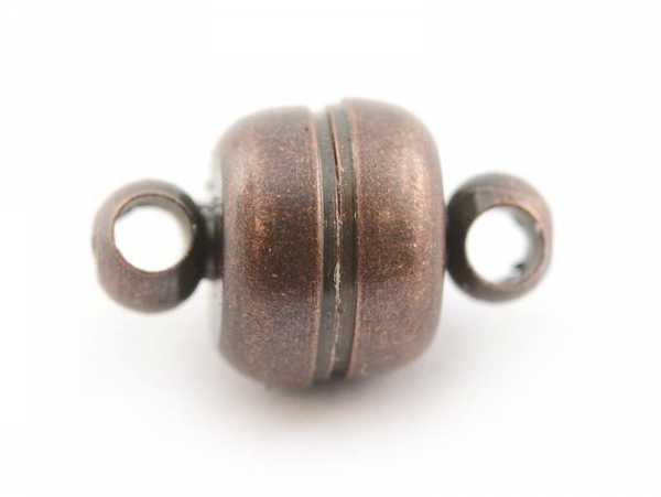 1 magnetic clasp - copper-coloured