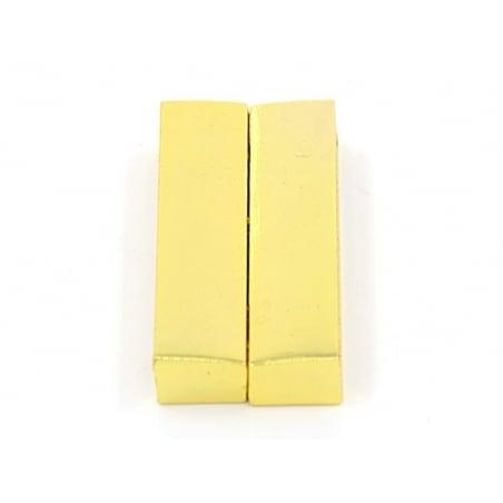 Acheter Fermoir aimanté rectangulaire 37 mm - couleur or - 4,60€ en ligne sur La Petite Epicerie - Loisirs créatifs