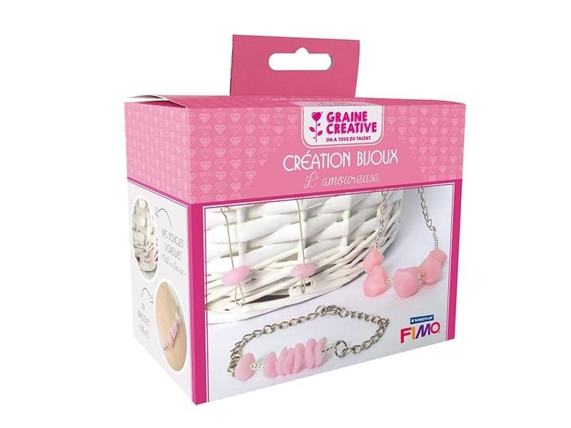 """Acheter Kit création bijoux """"L'amoureuse"""" - 10,95€ en ligne sur La Petite Epicerie - Loisirs créatifs"""