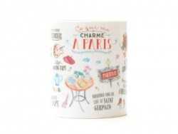"Mug ""Ce qui me charme à Paris"" Mr Wonderful  - 1"