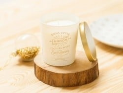 """Candle - """"Dans cette maison"""" (In this house) - fruity scent"""