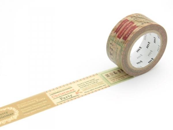 Christmas masking tape - vintage Masking Tape - 1