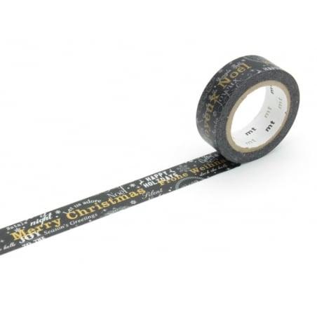 Masking tape message Joyeux Noël Masking Tape - 1
