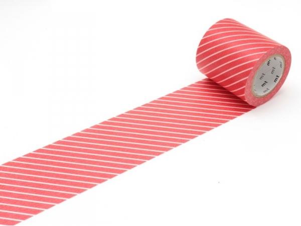Casa masking tape - red with white stripes Masking Tape - 1