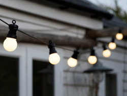 Guirlande lumineuse - ampoules blanches LED