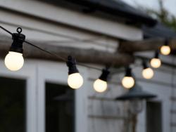 Lichterkette - weiße LEDs