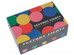 Festoon lights - multi-coloured LEDs