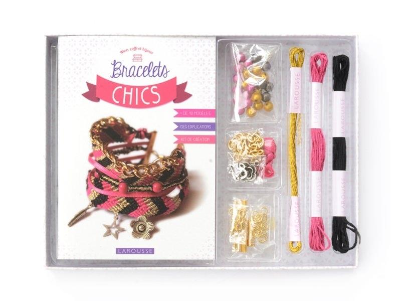 Coffret-livre Mes bracelets chics  - 1