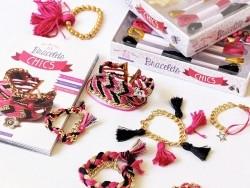 """Französisches Buch """"Coffret- Mes bracelets chics"""""""