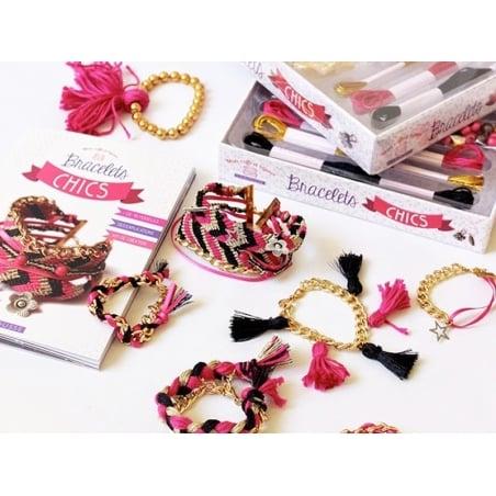 Coffret-livre Mes bracelets chics  - 2