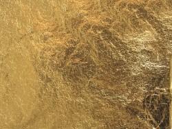 5 Bögen Blattmetall - goldfarben