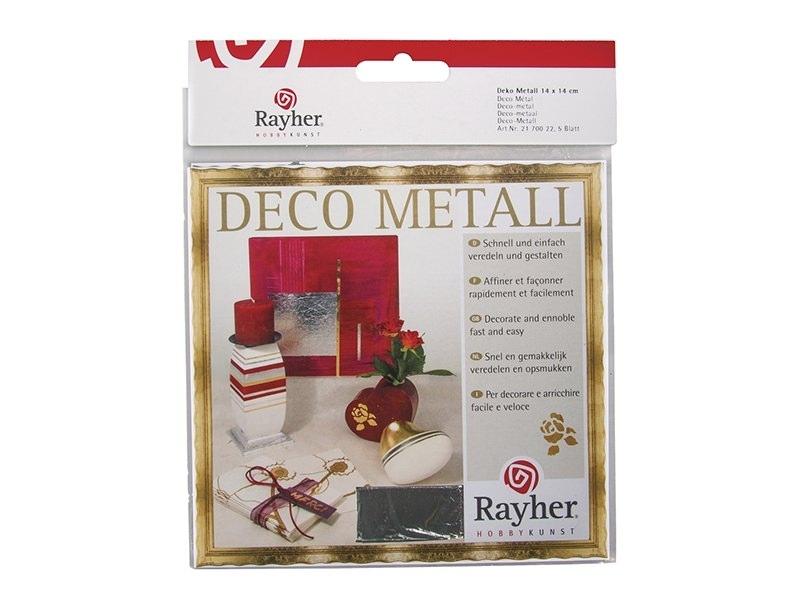 Acheter 5 feuilles de métal - argenté - 4,75€ en ligne sur La Petite Epicerie - 100% Loisirs créatifs