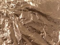 5 feuilles de métal - doré