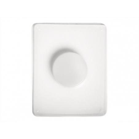Flexible plastic circle mould
