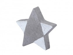 Biegsame Plastikgießform - Stern