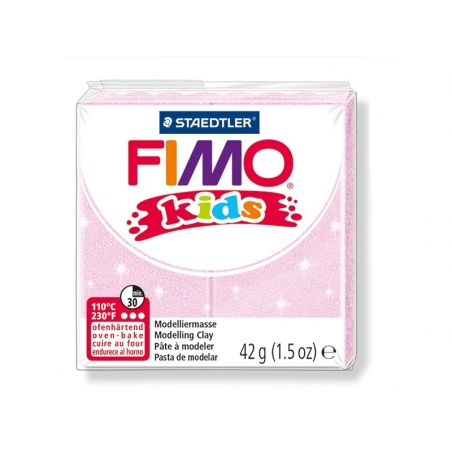 Pâte Fimo rose perle 206 Kids Fimo - 1