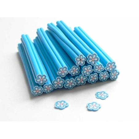 Daisy cane - blue