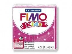 Pâte Fimo rose pailleté 262 Kids