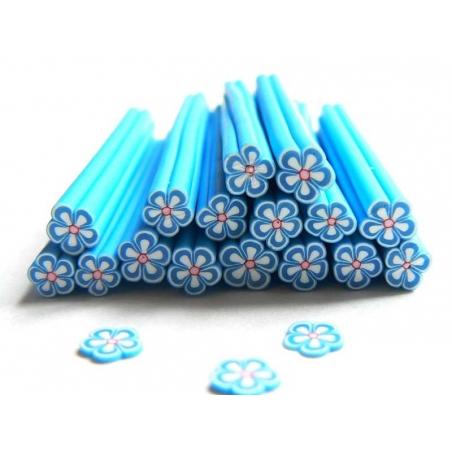 Acheter Cane paquerette bleue en pâte fimo - à découper en tranches - 0,49€ en ligne sur La Petite Epicerie - Loisirs créatifs