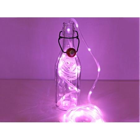 Guirlande LED néon - rose
