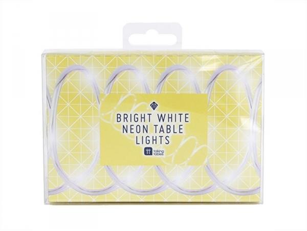 Guirlande LED néon - blanc