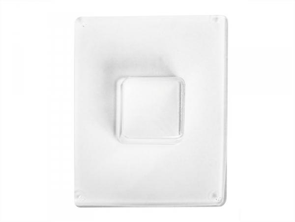 Square plastic mould (4.5 cm)