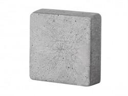 Moule carré 4,5 cm en plastique