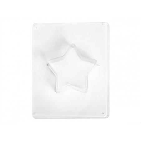 Moule étoile 9 cm en plastique Rayher - 1