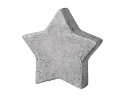 Moule étoile 9 cm en plastique