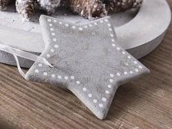 Sternförmige Plastikgießform (6 cm)