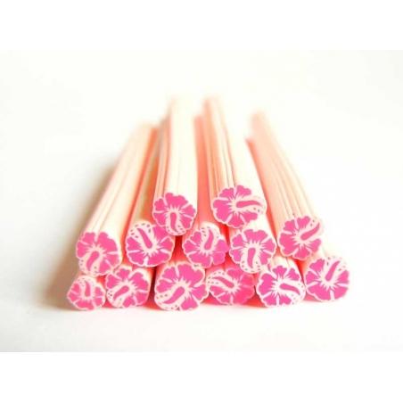 Flower cane - Monoi, pink