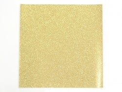 Glitter sheet - golden