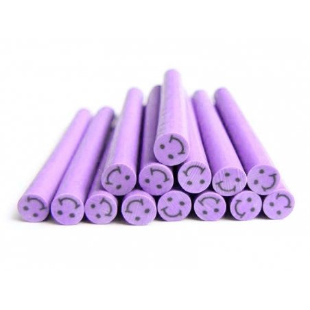 Smiley cane - purple